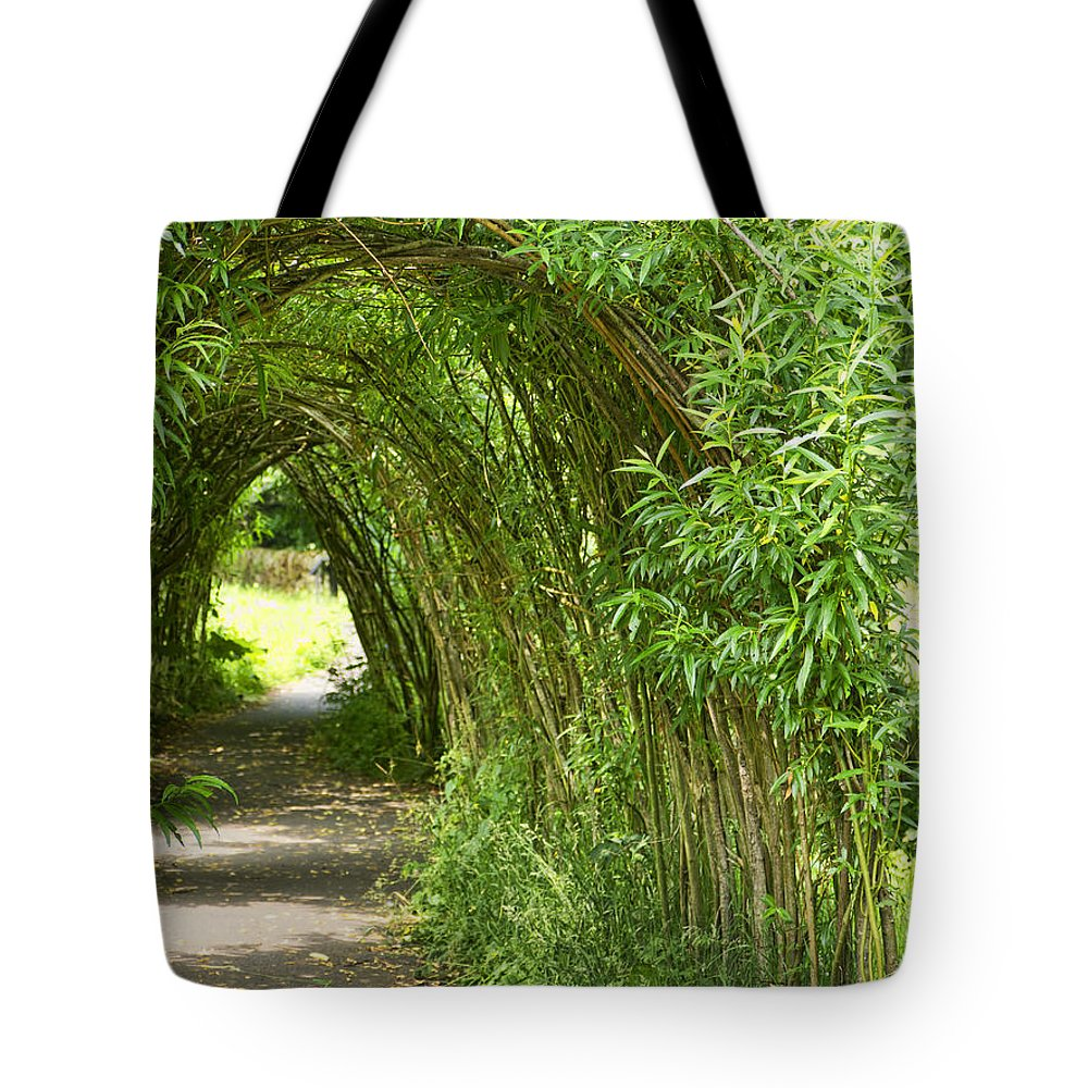 Wycoller Tote Bag featuring the photograph Tunnel Vision by Gillian Singleton