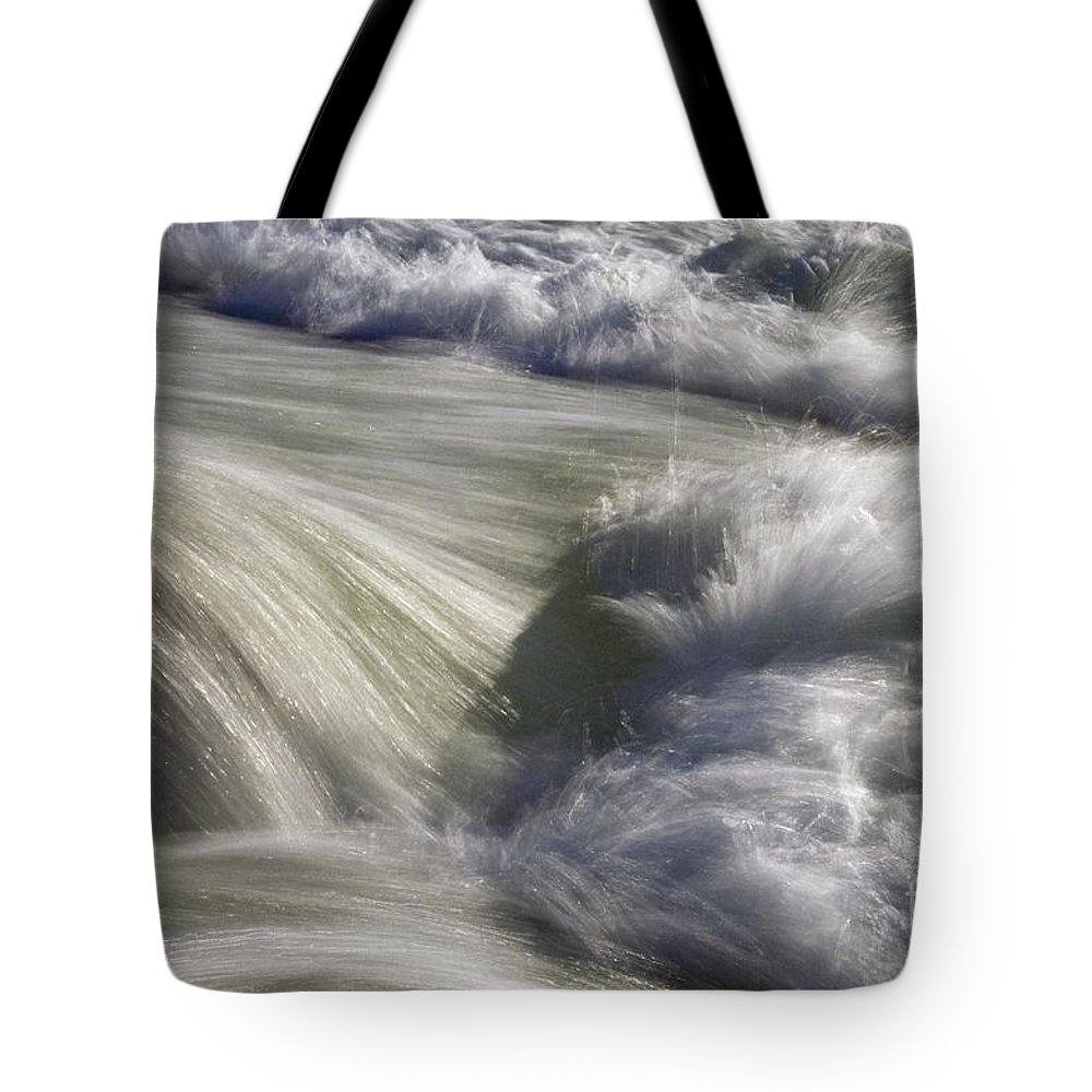 Pedernales State Park Johnson City Texas Parks Water Waterfall Waterfalls Falls River Rivers Stream Streams Cascade Cascades Waterscape Waterscapes Wave Waves Tote Bag featuring the photograph Turbulence by Bob Phillips