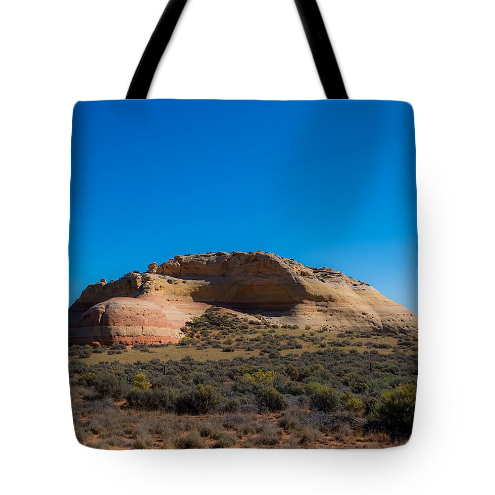 Donna Giesbrecht Tote Bag featuring the photograph Turtle Mountain by Randy Giesbrecht