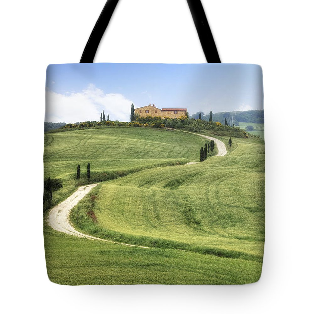 Pienza Tote Bag featuring the photograph Tuscany - Val D'orcia by Joana Kruse
