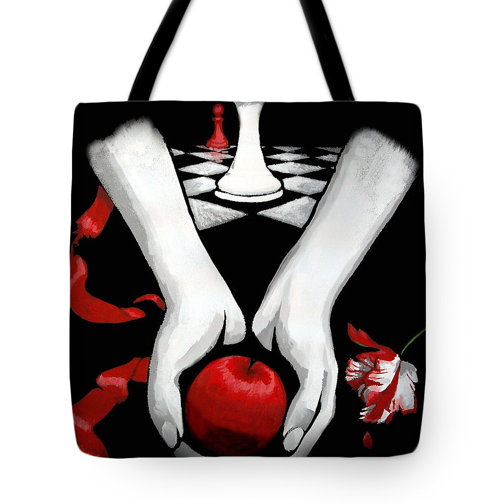 Twilight Tote Bag featuring the painting Twilight Saga by Dale Loos Jr