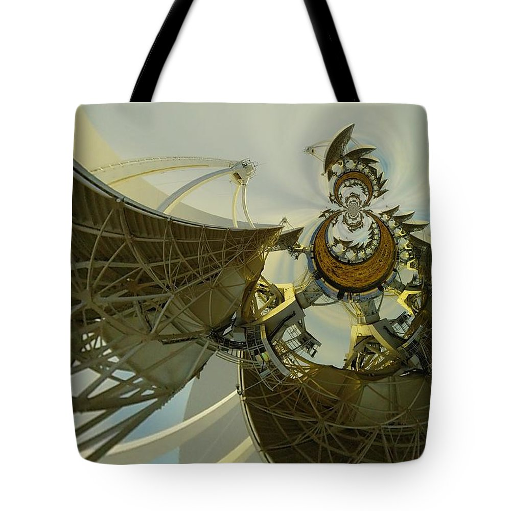 Abstract Tote Bag featuring the photograph Twisted Beauty Of Chaso by Jeff Swan