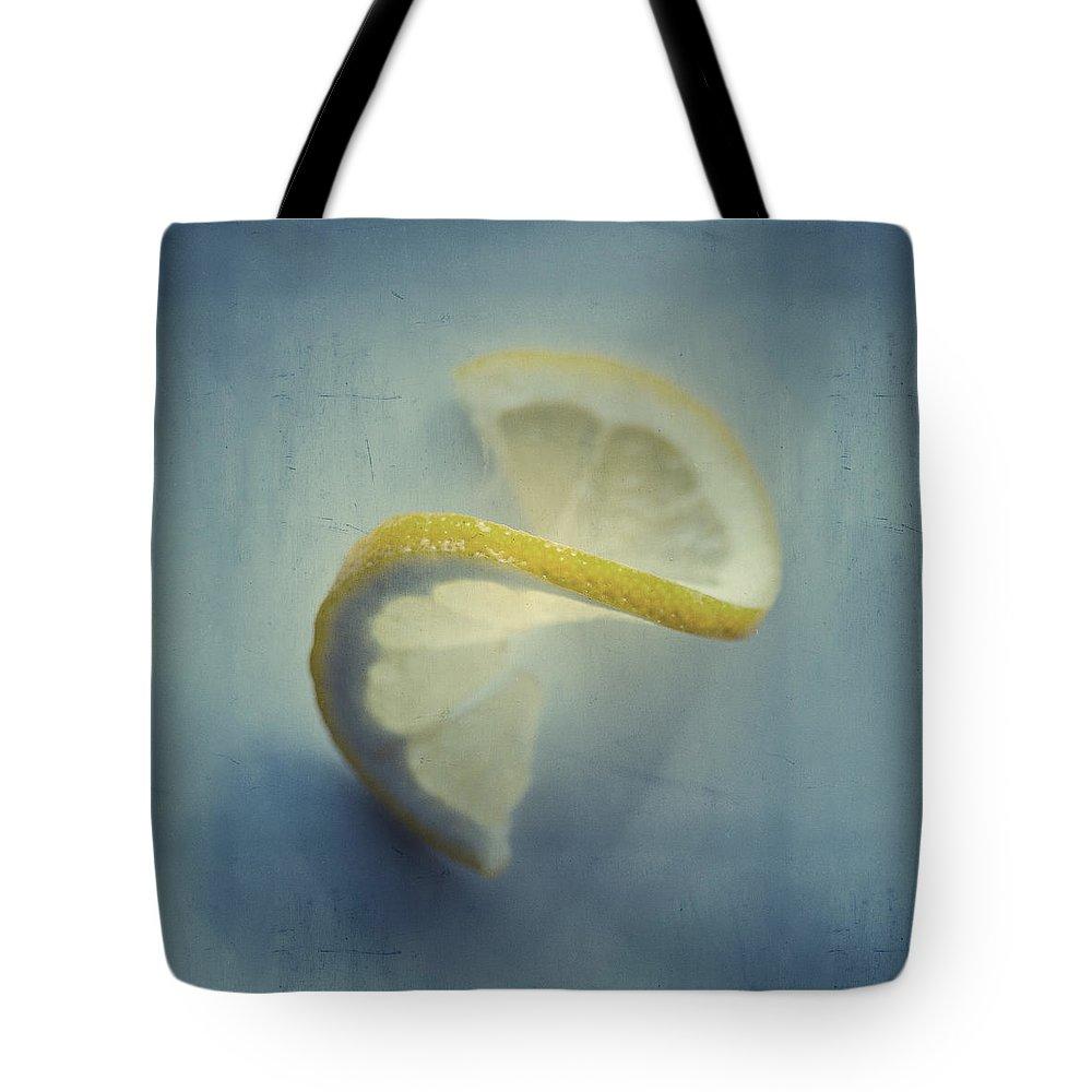 Twisted Lemon Tote Bag