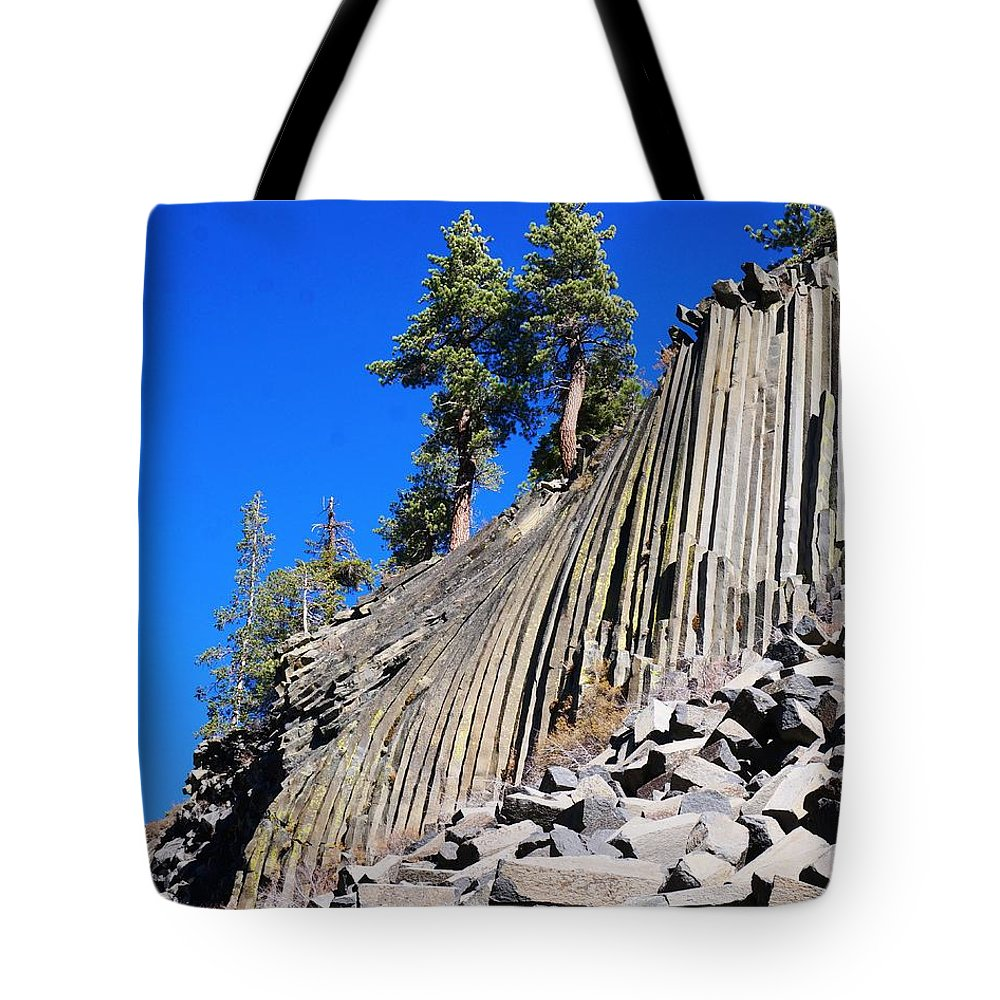 Devils Postple Tote Bag featuring the photograph Two by Julia Ivanovna Willhite