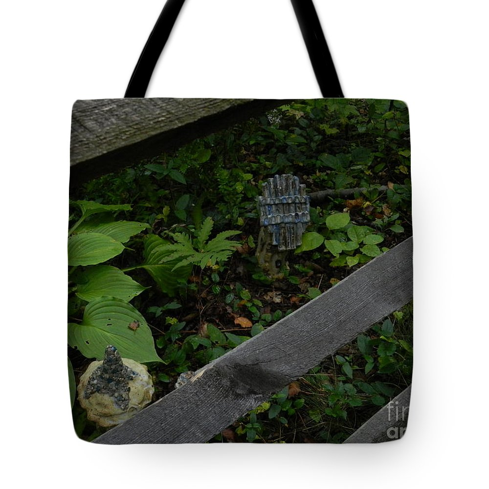 Tyler Tote Bag featuring the photograph Tyler Statues 2 by Heather Jane