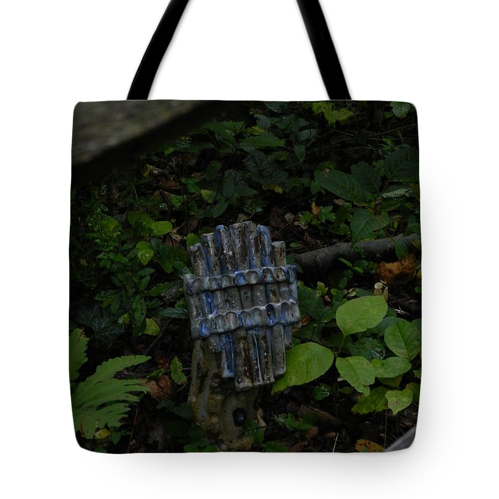 Tyler Tote Bag featuring the photograph Tyler Statues 4 by Heather Jane