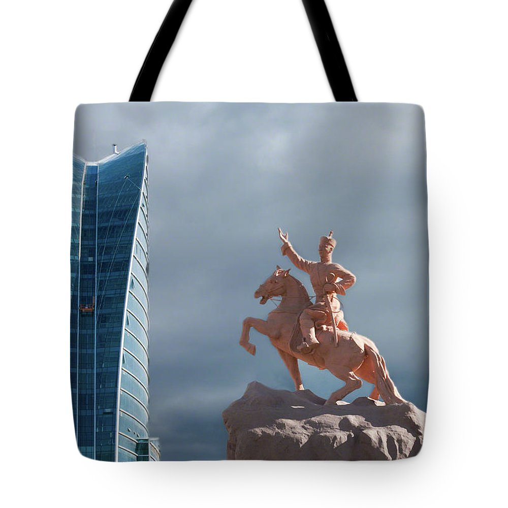Asia Tote Bag featuring the photograph Ulaanbaatar by Alan Toepfer