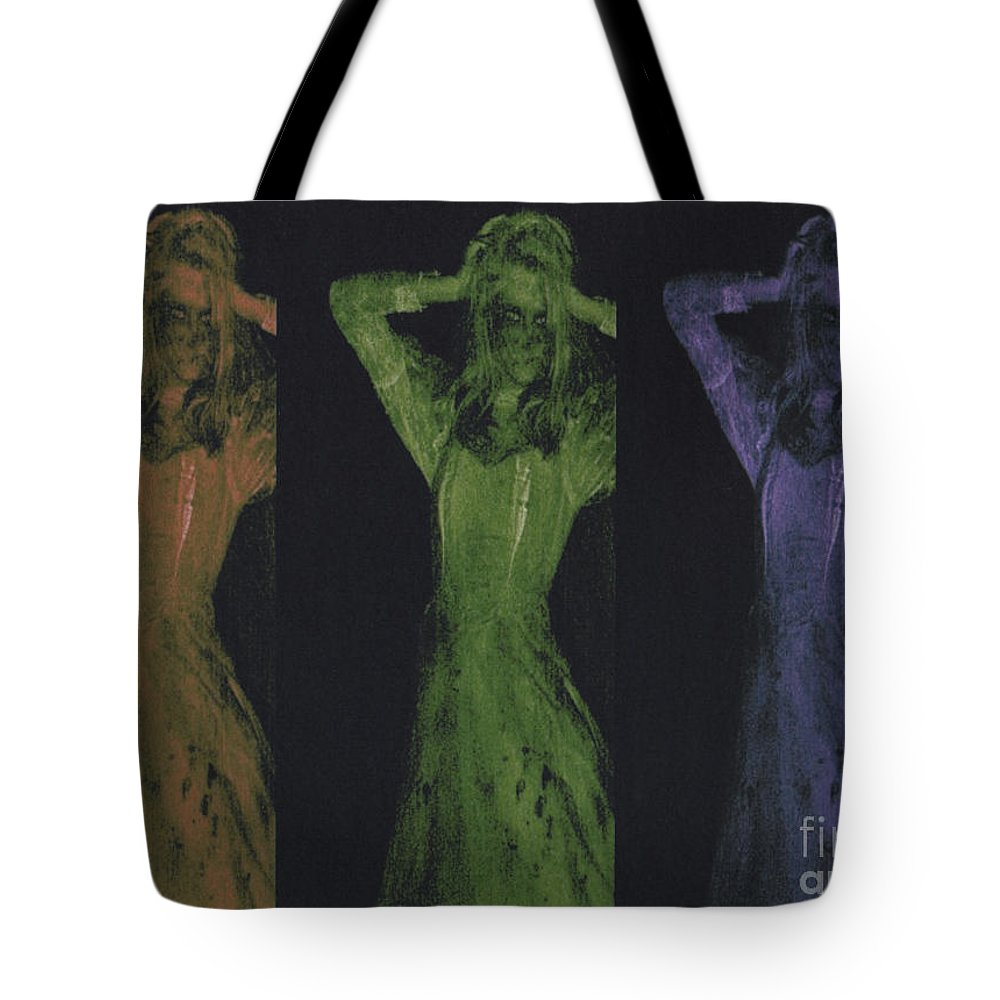 First Star Art Tote Bag featuring the photograph Undead X 3 by First Star Art