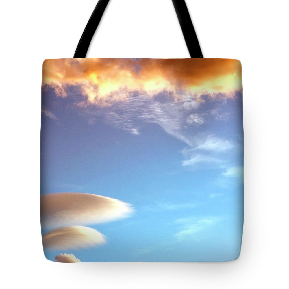 Desert Sky Tote Bag featuring the photograph Under The Desert Sky Palm Springs by William Dey