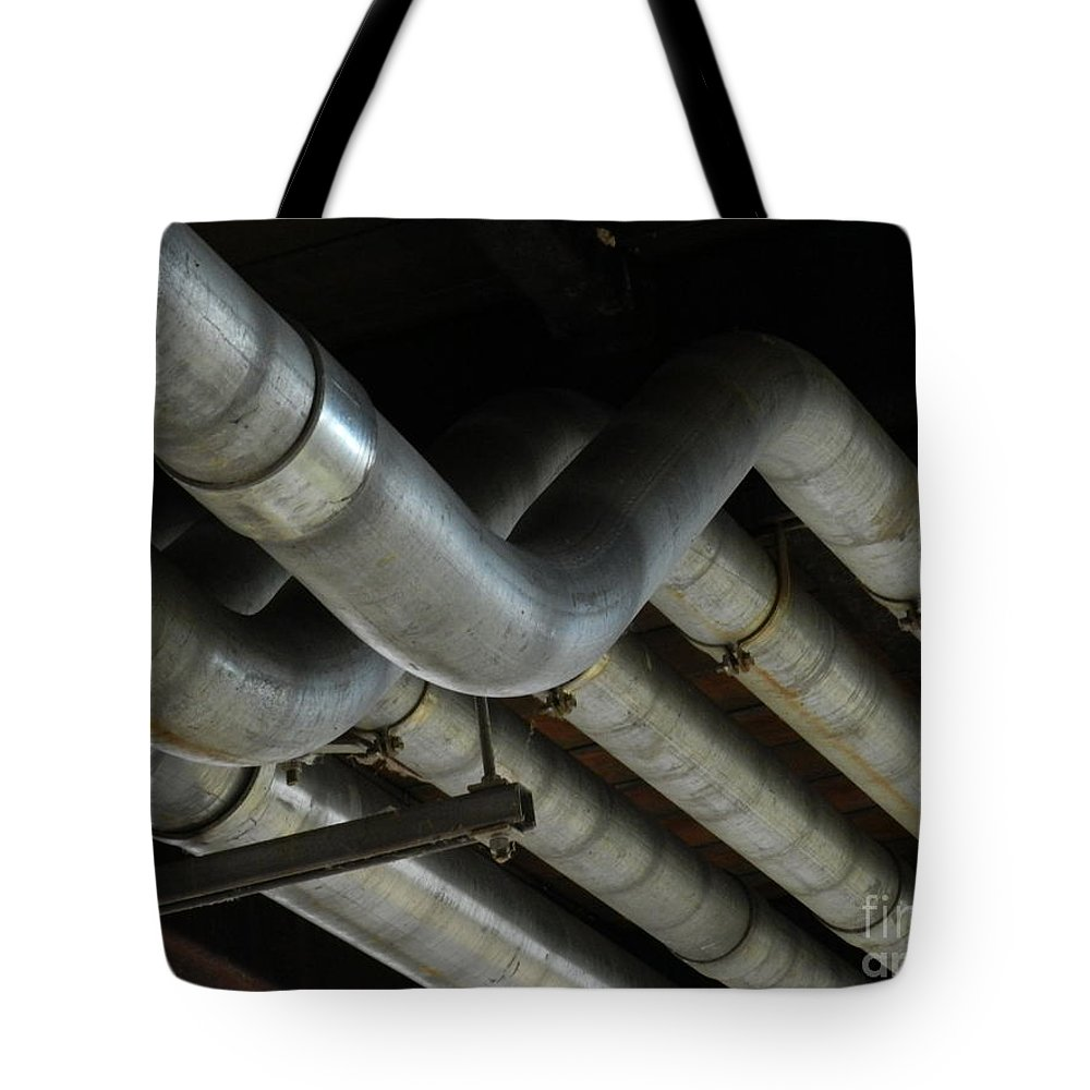Wilmington Tote Bag featuring the photograph Under The Riverfront 1 by Heather Jane