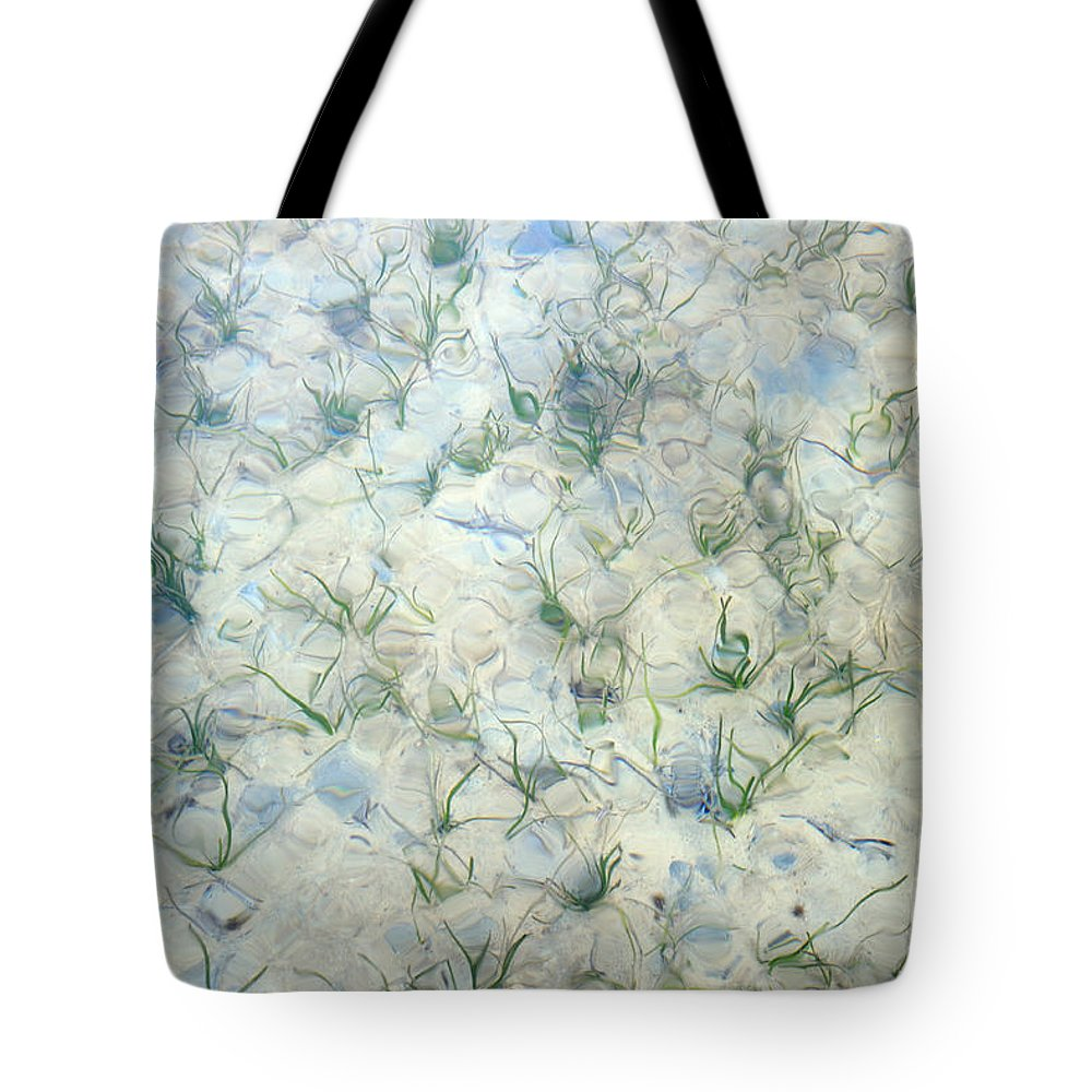 Underwater Tote Bag featuring the photograph Underwater Abstract by Grigorios Moraitis