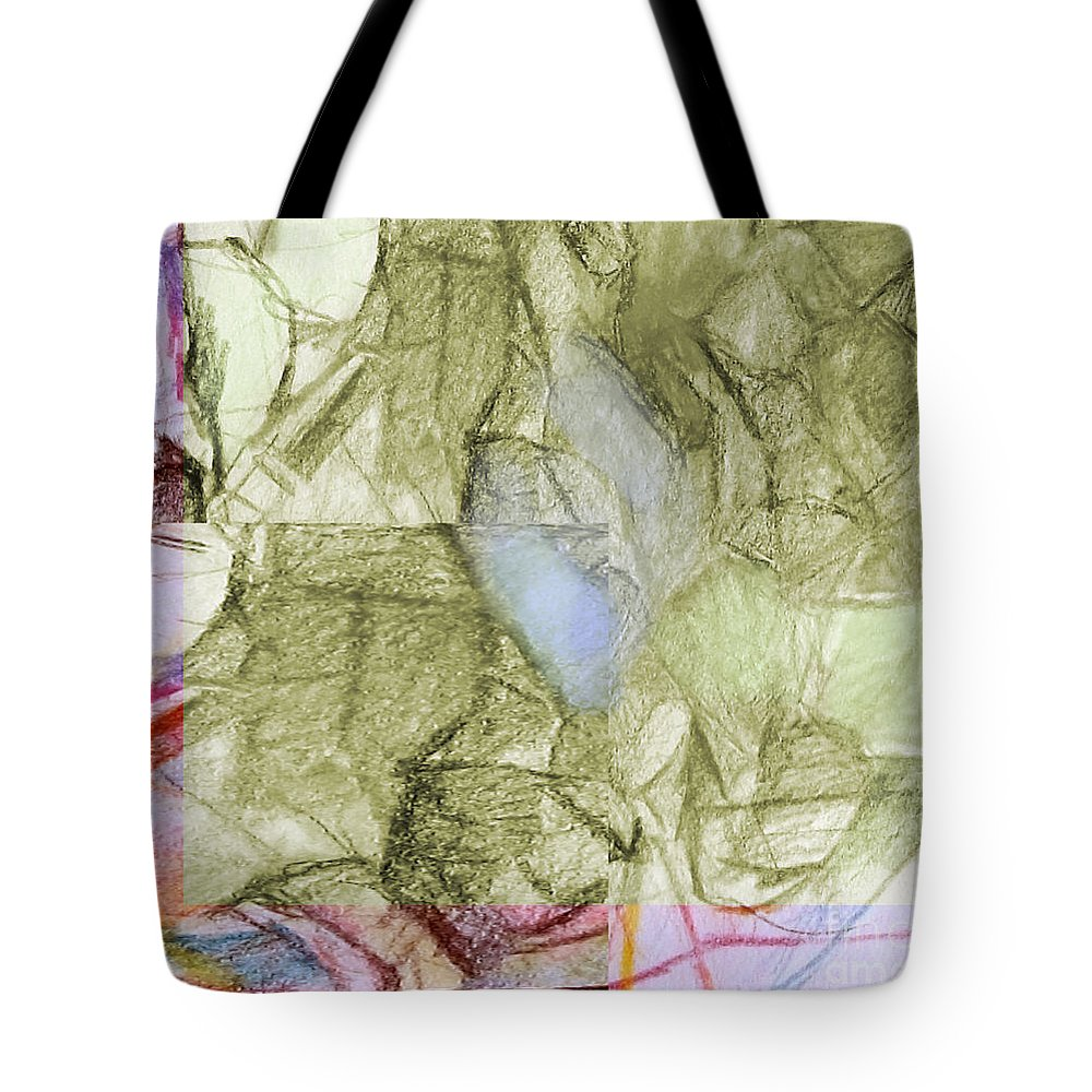 Torah Tote Bag featuring the digital art You Saw No Picture 3 by David Baruch Wolk