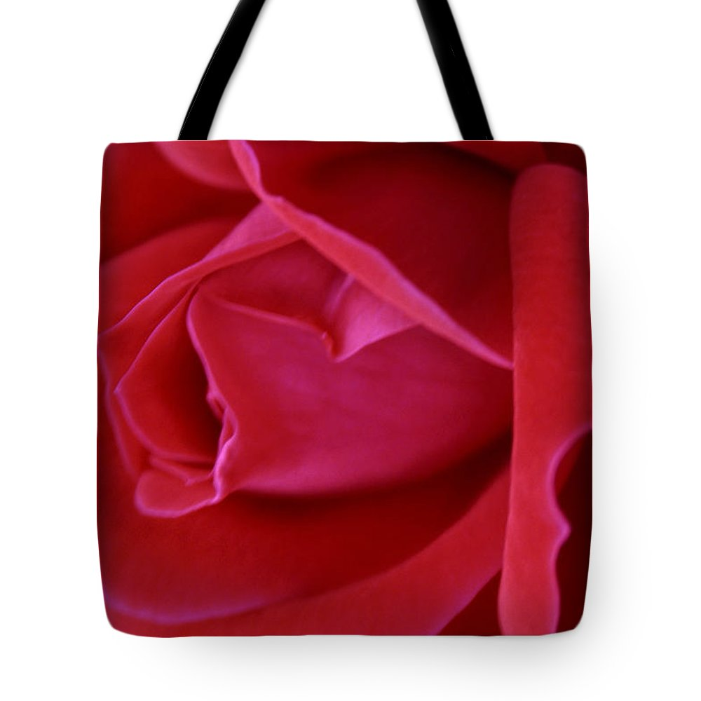 Rose Tote Bag featuring the photograph Unfolding Glory by Mary Beglau Wykes