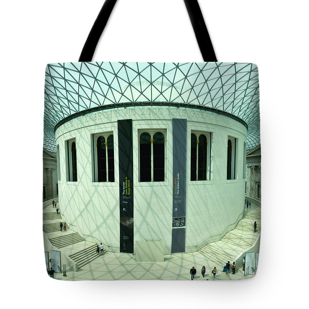 Britain Tote Bag featuring the photograph Unfolding Splendor by Evelina Kremsdorf