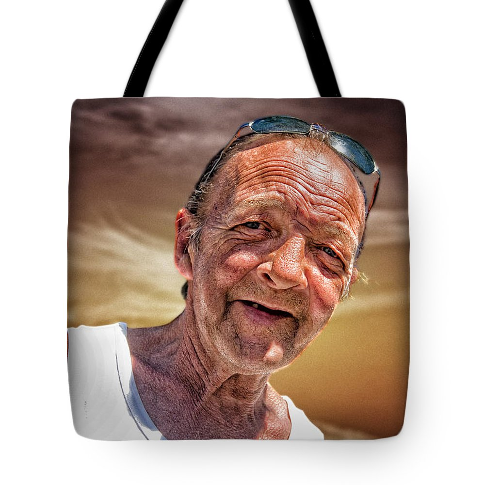Portraits Tote Bag featuring the photograph Unknown by John Herzog