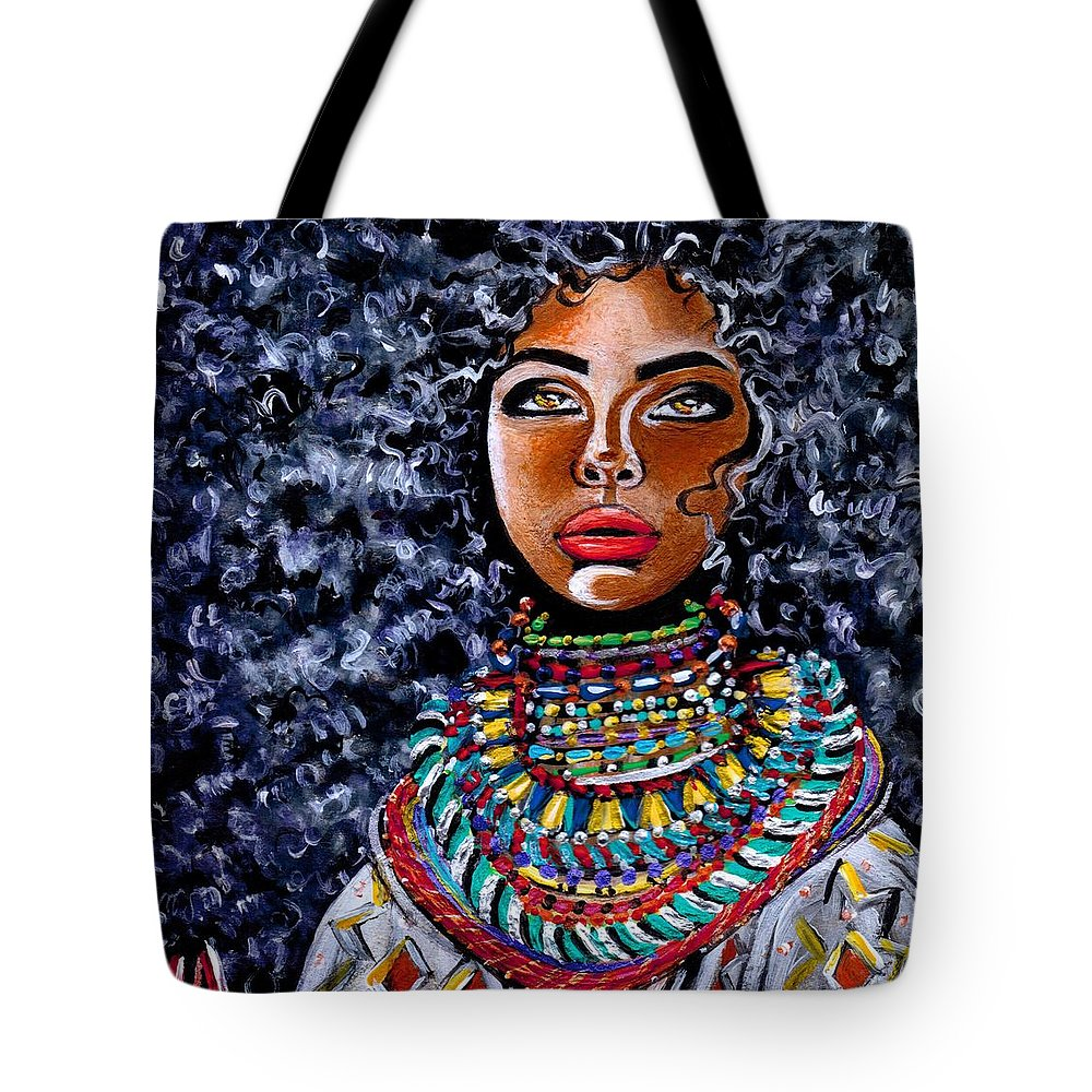 Artbyria Tote Bag featuring the photograph Untamed Beauty by Artist RiA