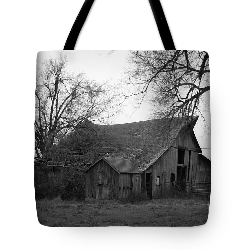 Black And White Tote Bag featuring the photograph Until The Cows Come Home by Crystal Nederman