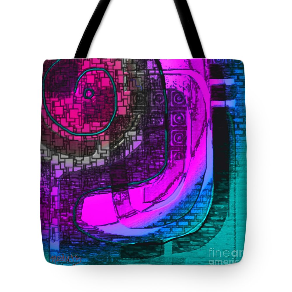 Art Prints Tote Bag featuring the painting Untitled 270 by Nedunseralathan R