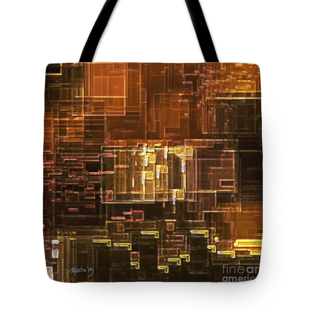 Art Prints Tote Bag featuring the painting Untitled 281 by Nedunseralathan R