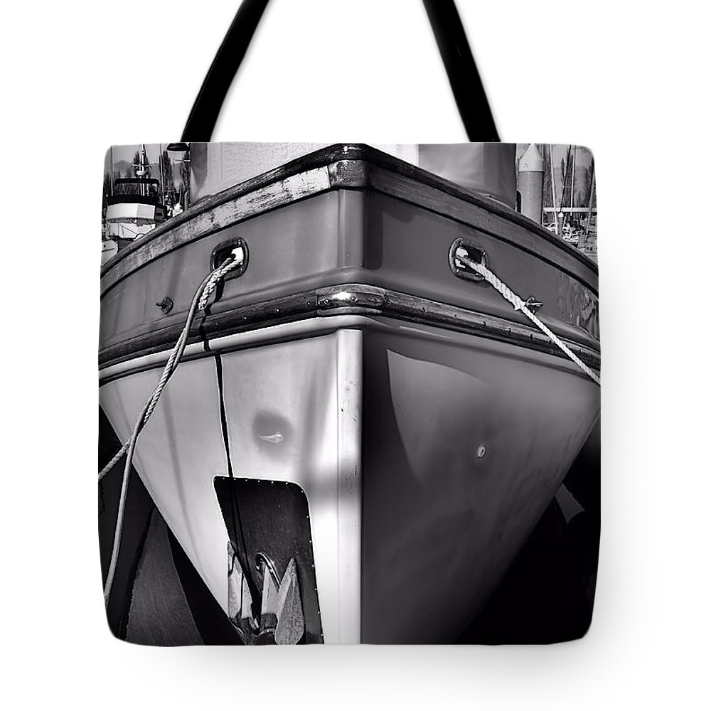 Abstract Tote Bag featuring the photograph Up Front by Lauren Leigh Hunter Fine Art Photography