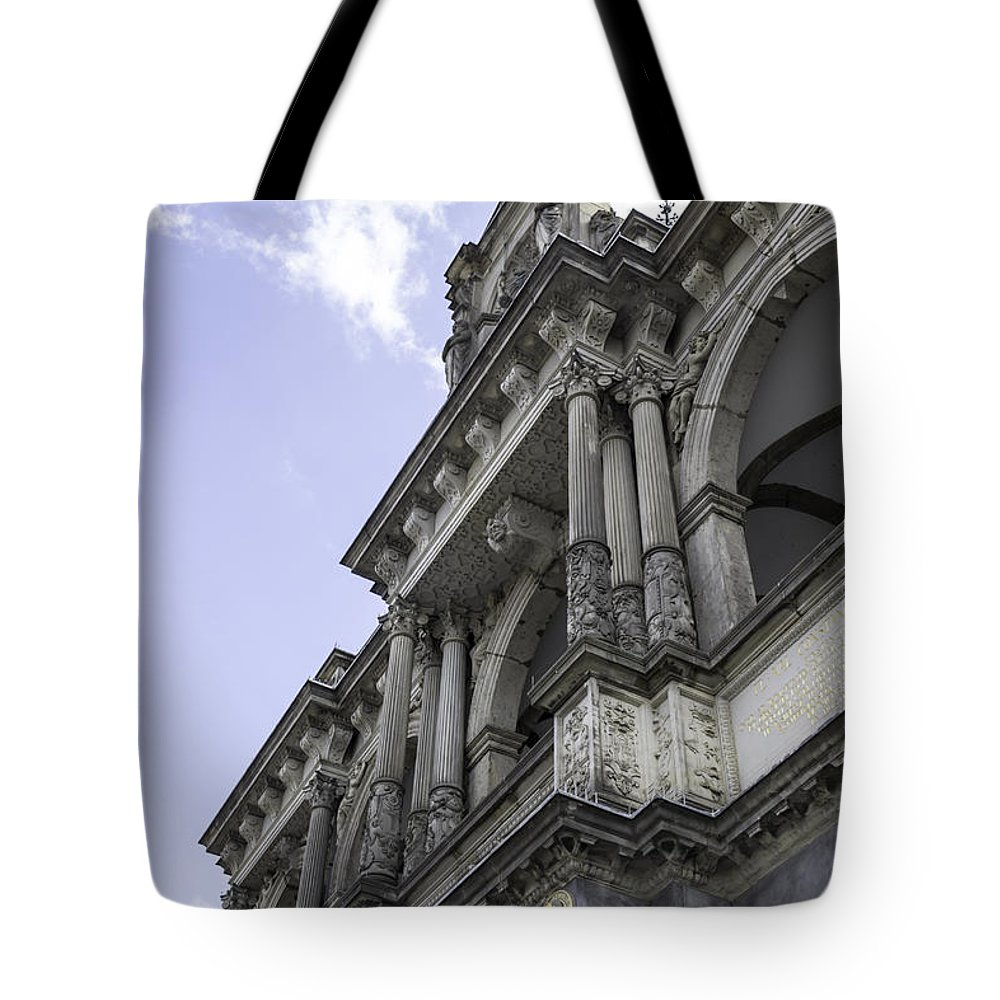 2014 Tote Bag featuring the photograph Up To The Left by Teresa Mucha