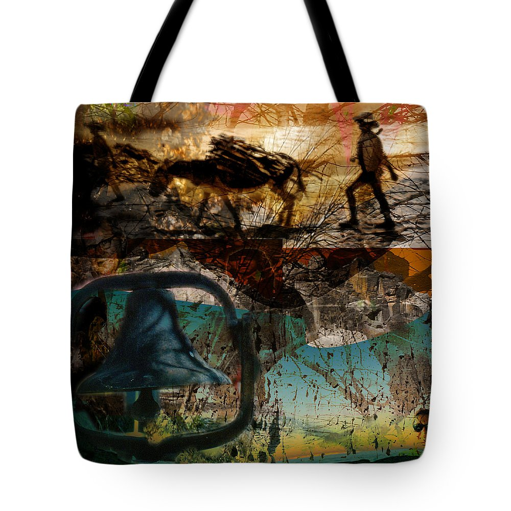 Tote Bag featuring the digital art Up With The Sun by Cathy Anderson