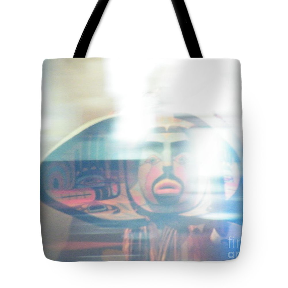 Urban Tote Bag featuring the photograph Urban Indian Symbolism Number 5 by Brian Boyle