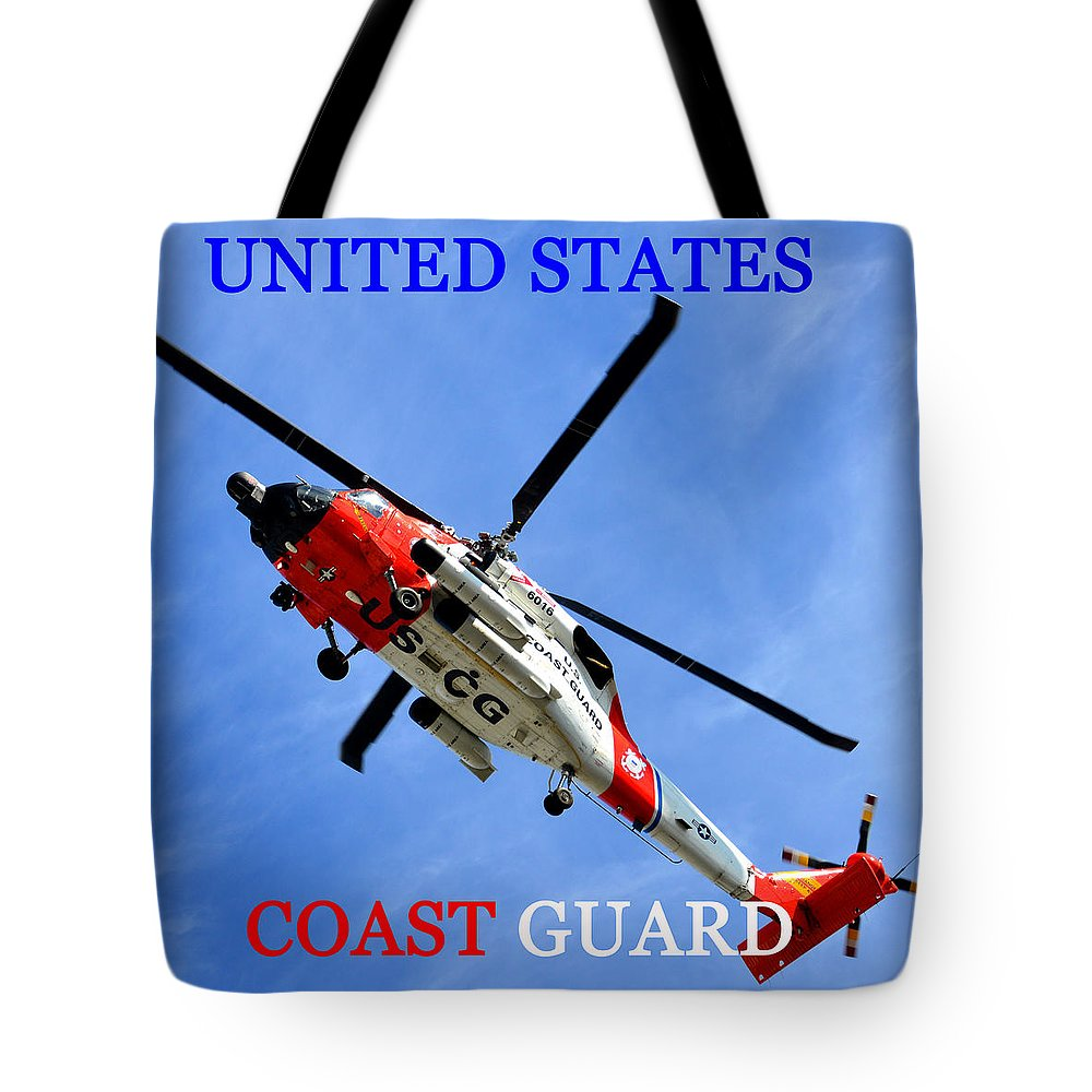 United States Coast Guard Tote Bag featuring the photograph Uscg Work A by David Lee Thompson