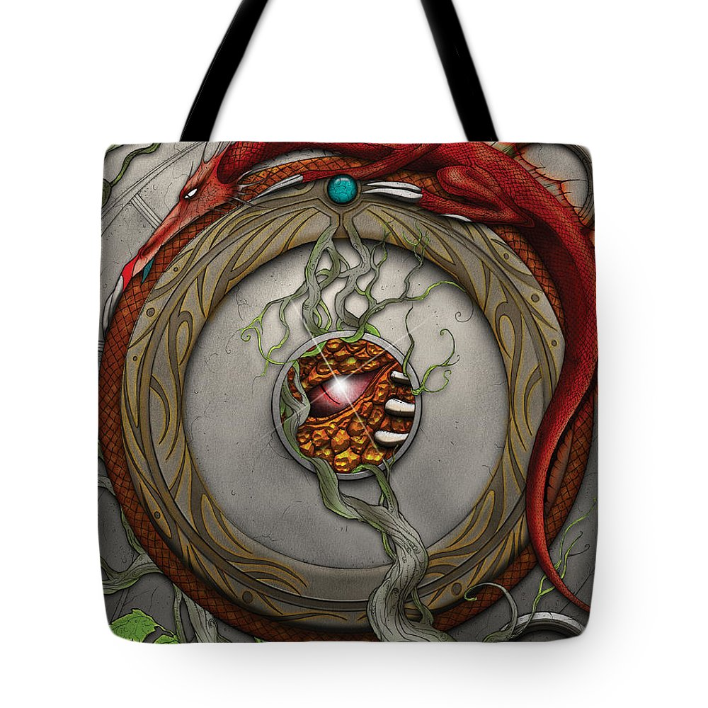 Usherwood Tote Bag featuring the digital art Valencyas Horde by James Kramer