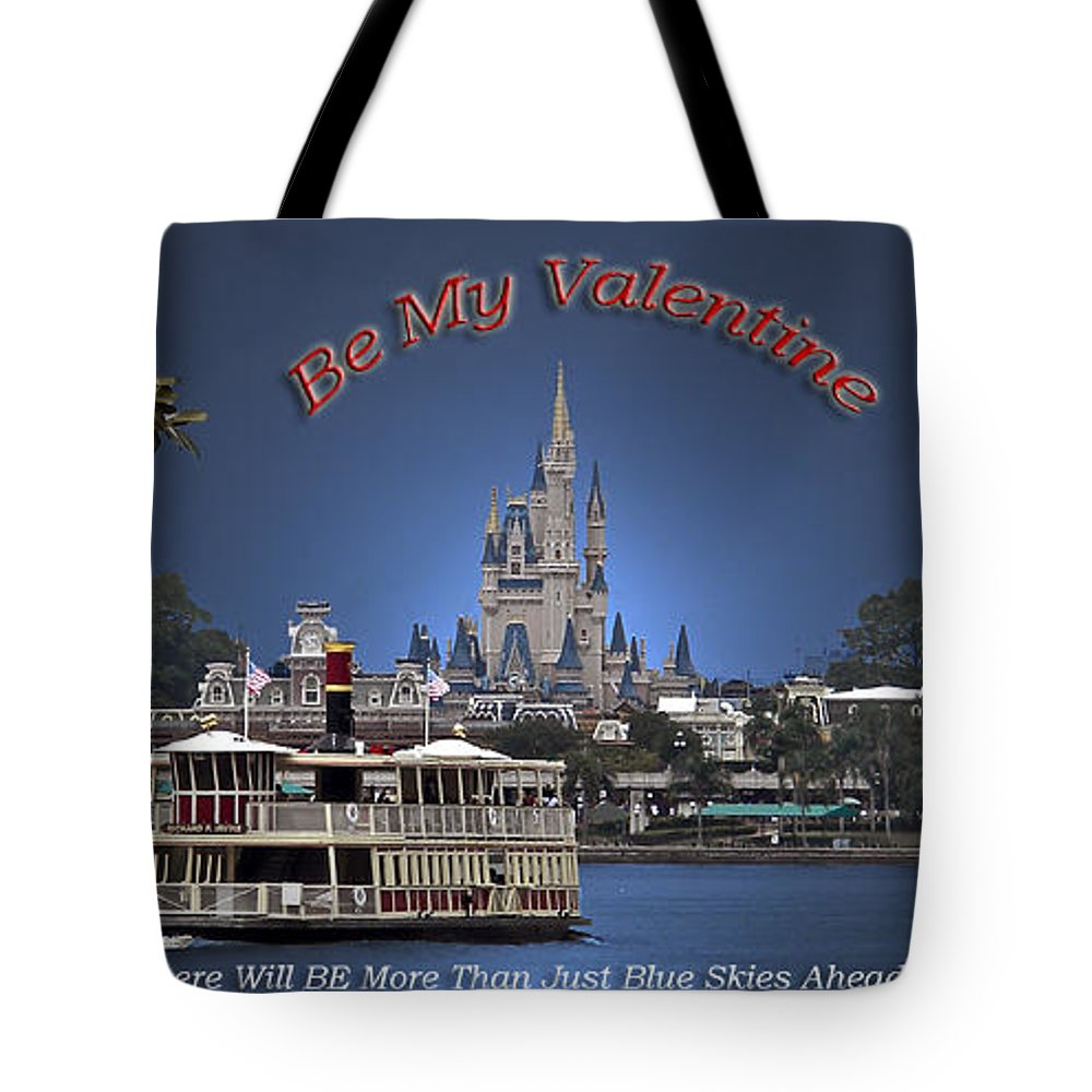 St. Valentine Tote Bag featuring the photograph Valentine More Than Blue Skies by Thomas Woolworth