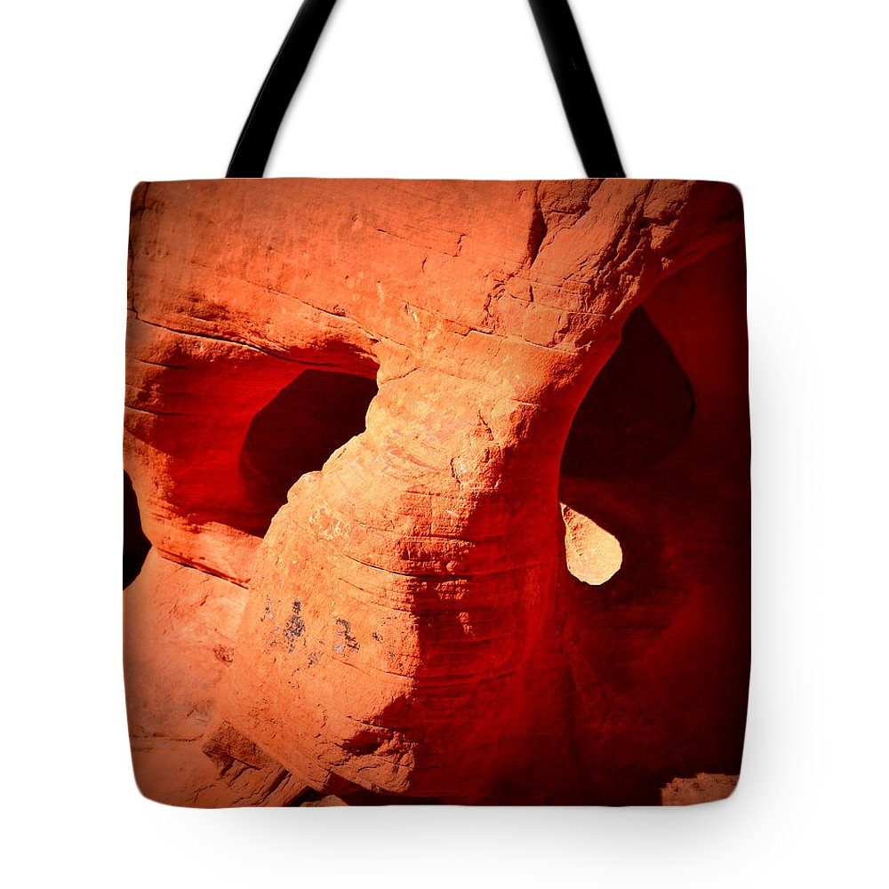 Valley Of Fire Tote Bag featuring the photograph Valley Of Fire Nevada Desert Beehives by Katy Hawk