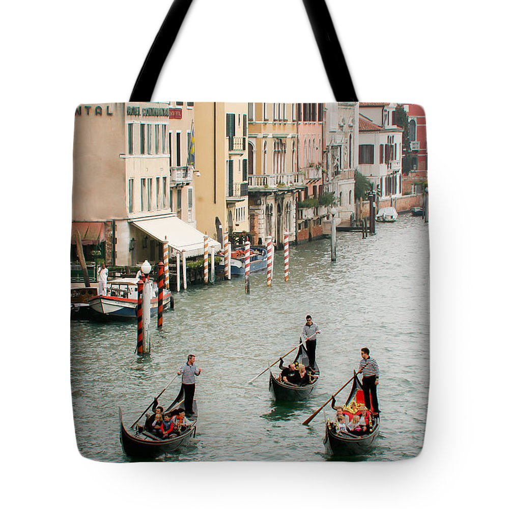 Venice Tote Bag featuring the photograph Venice by Silvia Bruno