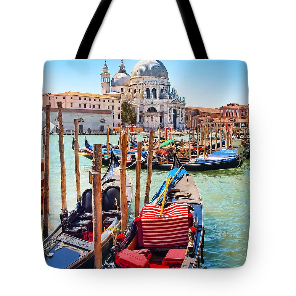 Travel Tote Bag featuring the photograph Venice by JR Photography