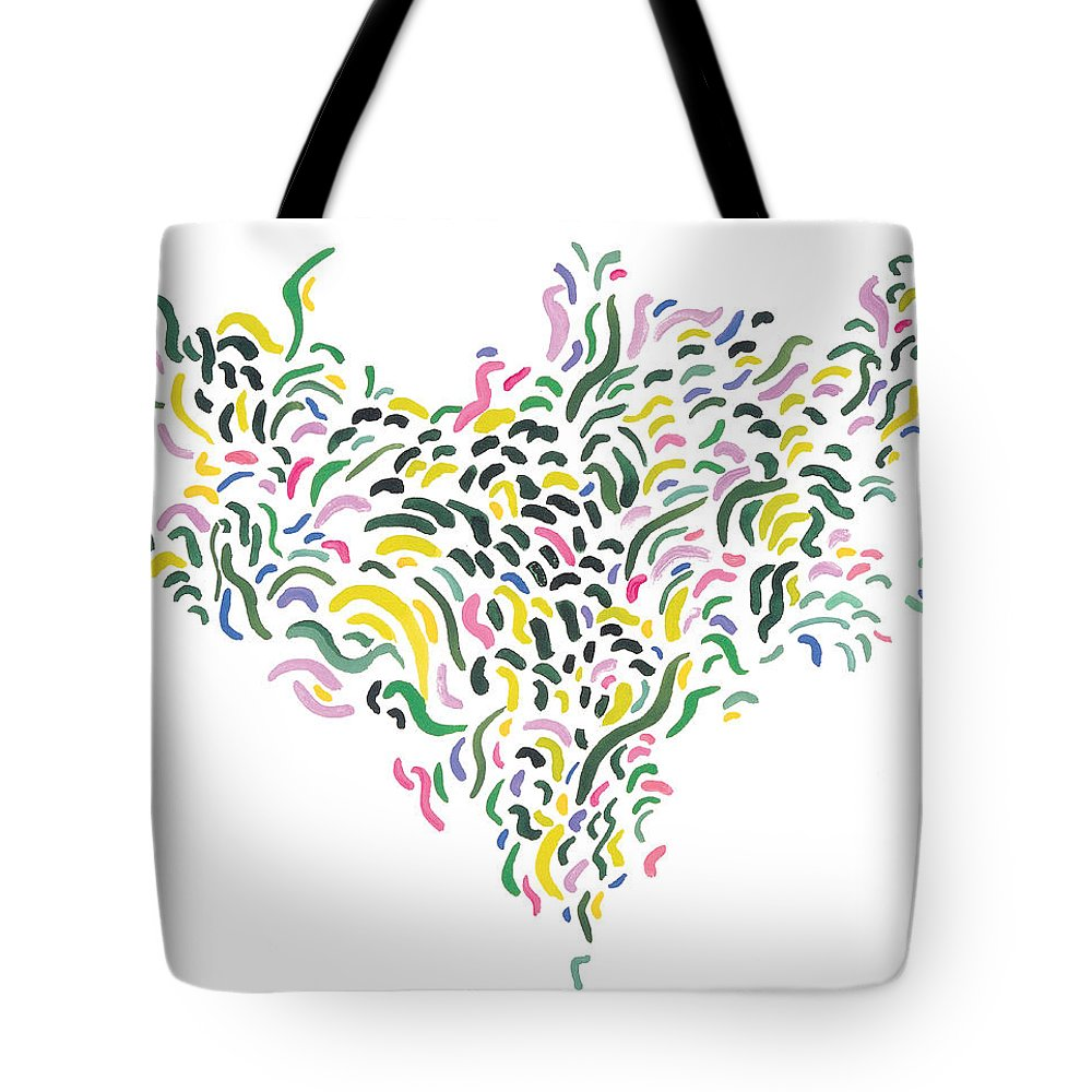 Contemporary Tote Bag featuring the painting Venus by Bjorn Sjogren