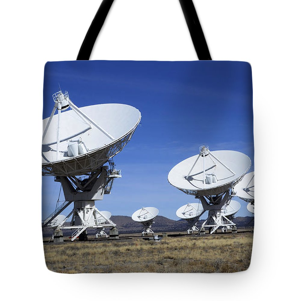 Very Large Array Of Radio Telescopes 3 Tote Bag