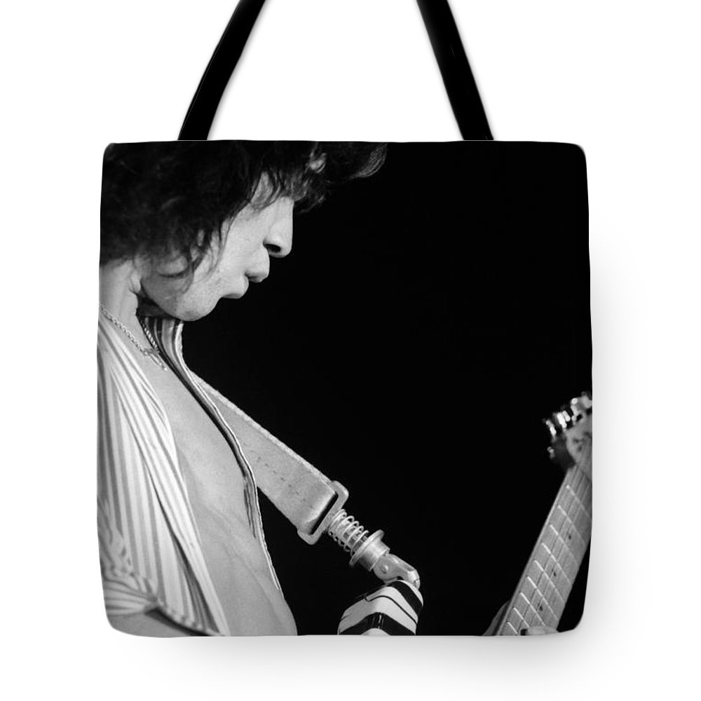 Van Halen Tote Bag featuring the photograph Vh #18 by Ben Upham