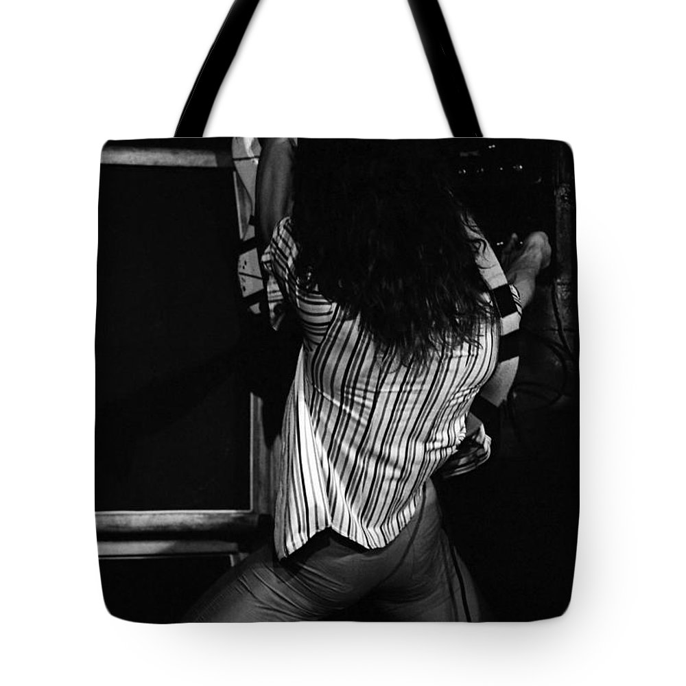Van Halen Tote Bag featuring the photograph Vh #22 by Ben Upham
