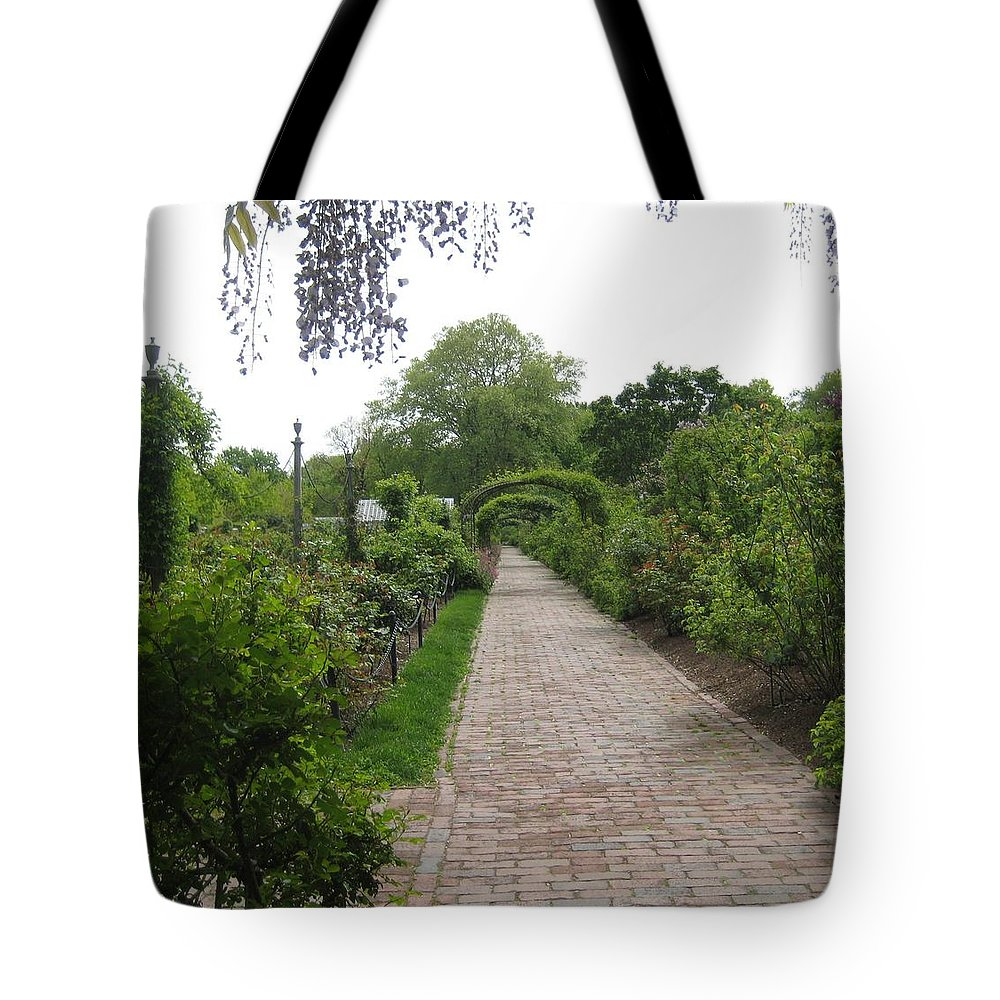Landscape Tote Bag featuring the photograph Victorian Garden by Melissa McCrann