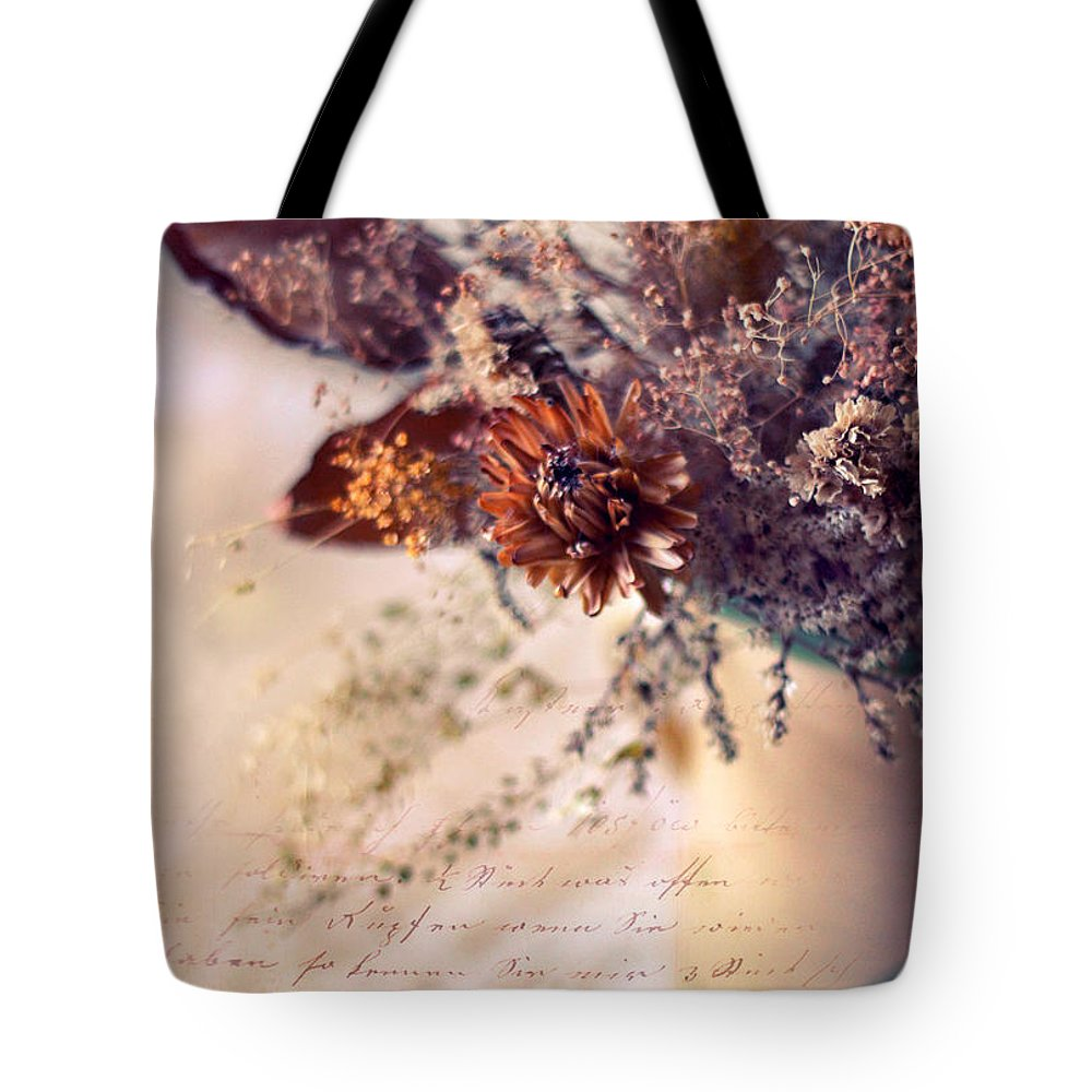 Flowers Tote Bag featuring the photograph Victorian Treatment by Jessica Jenney
