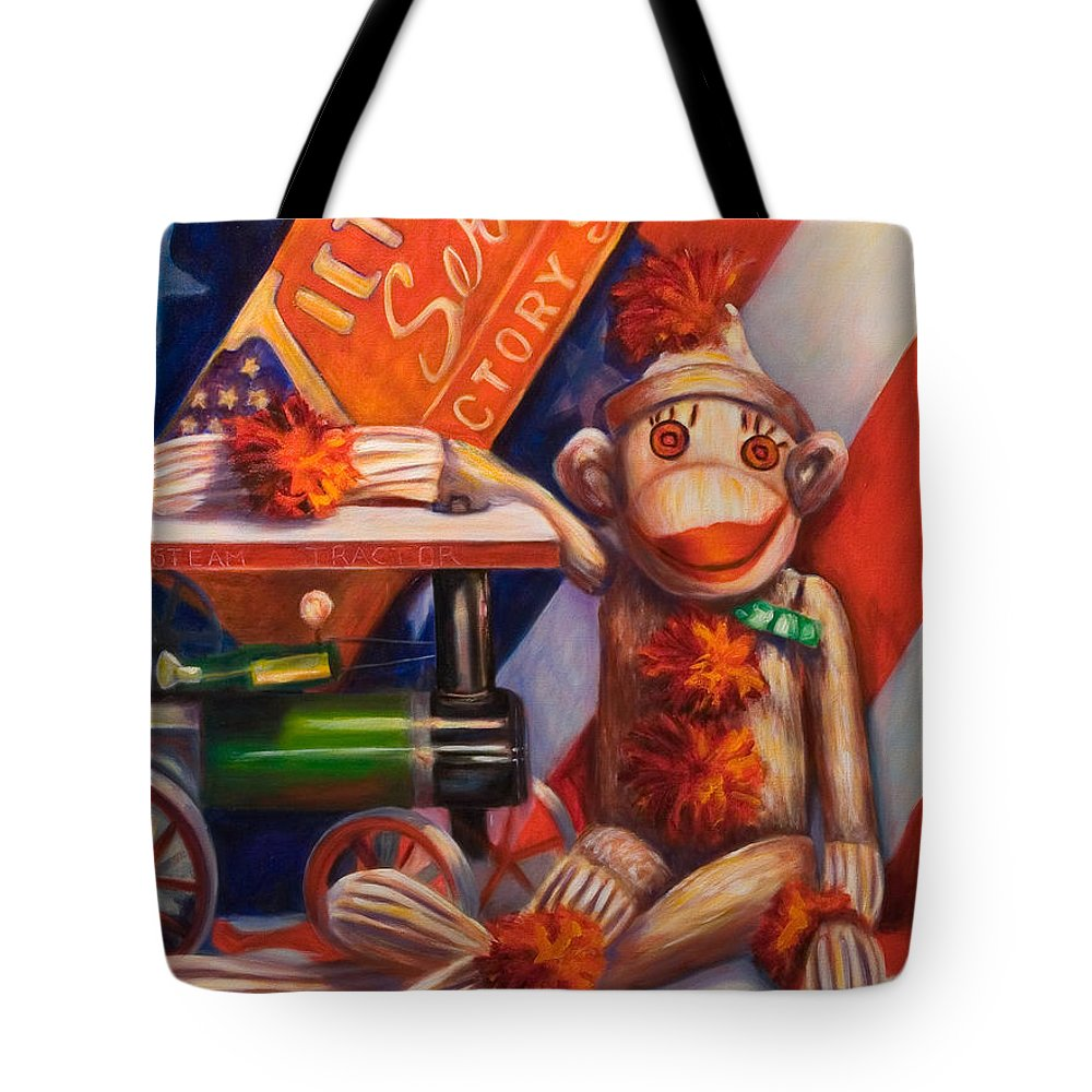 4th Of July Tote Bag featuring the painting Victory by Shannon Grissom