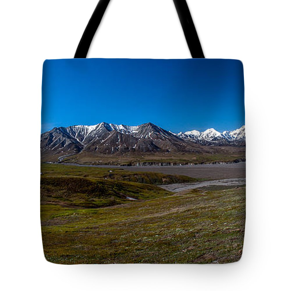 Eielson Tote Bag featuring the photograph View From Eielson by Thomas Sellberg