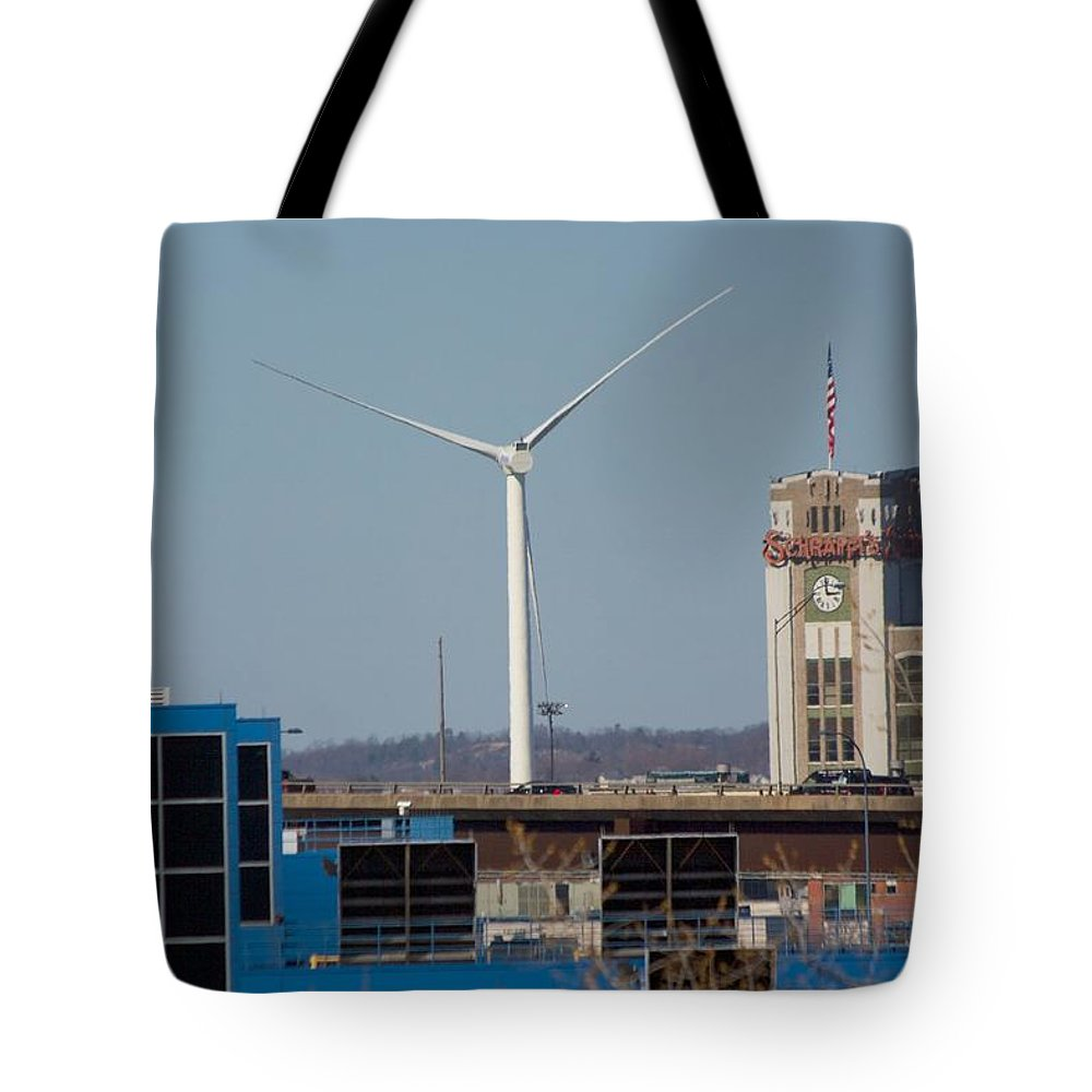 North Point Tote Bag featuring the photograph View From North Point by Allan Morrison