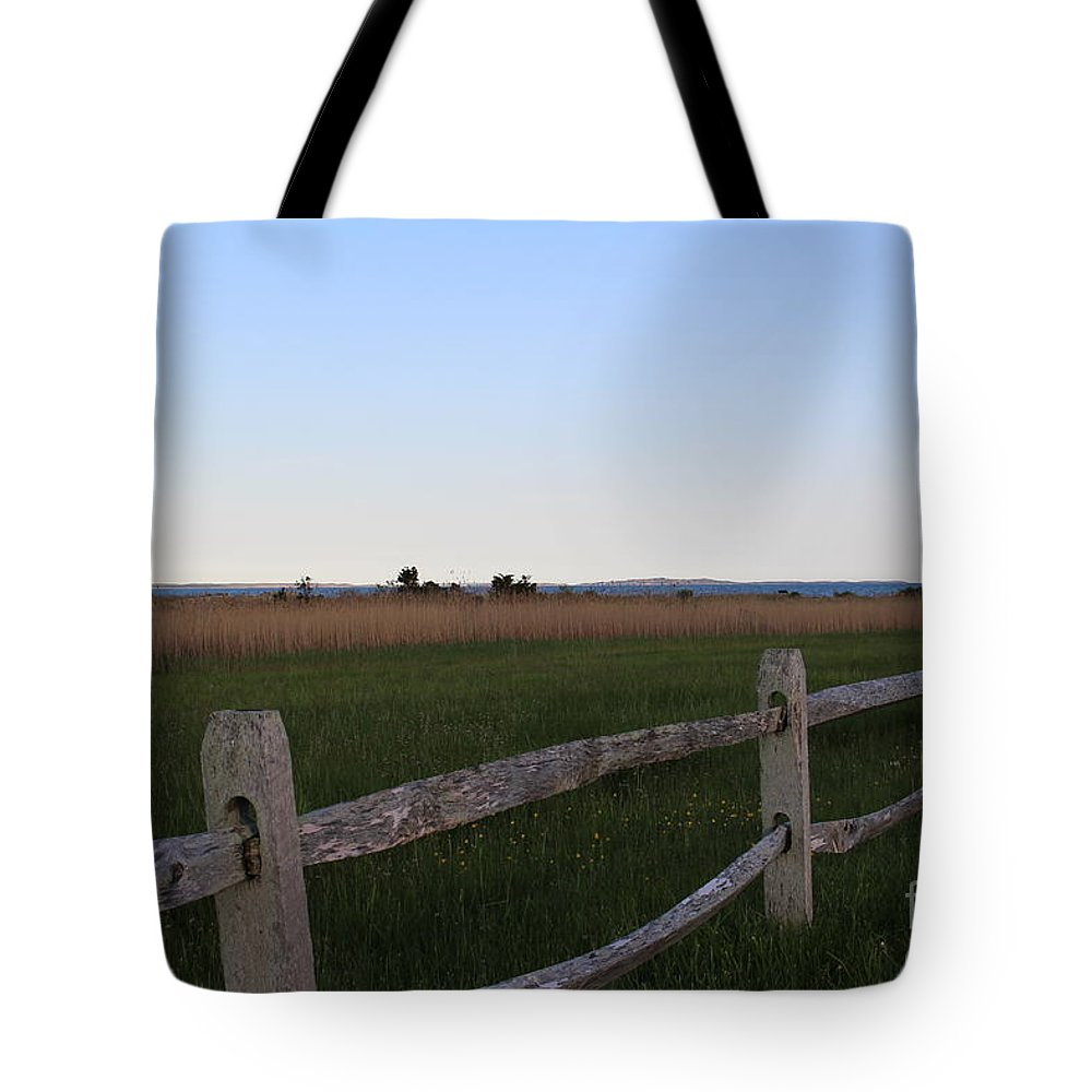 Cuttyhunk Tote Bag featuring the photograph View Of Cuttyhunk by Cheryl Aguiar