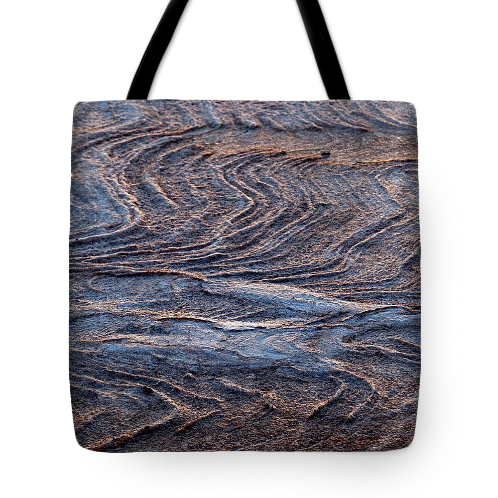 Curve Tote Bag featuring the photograph View Of Landscape From Above, Port by Tobias Titz