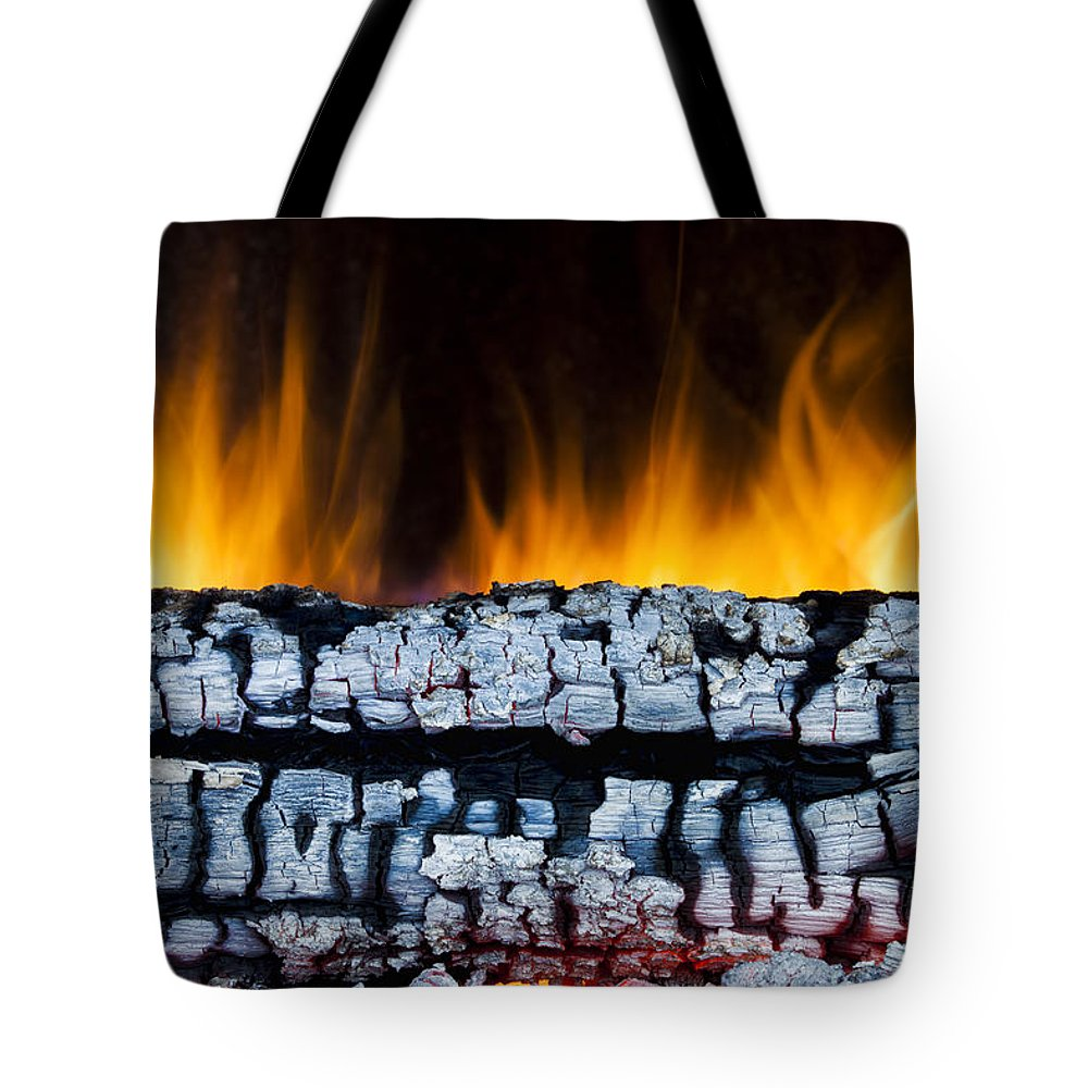 Ash Tote Bag featuring the photograph Views From The Fireplace by Marc Garrido