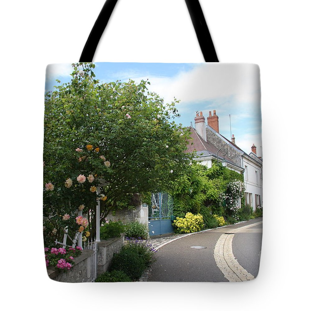 Village Tote Bag featuring the photograph Village Road by Christiane Schulze Art And Photography