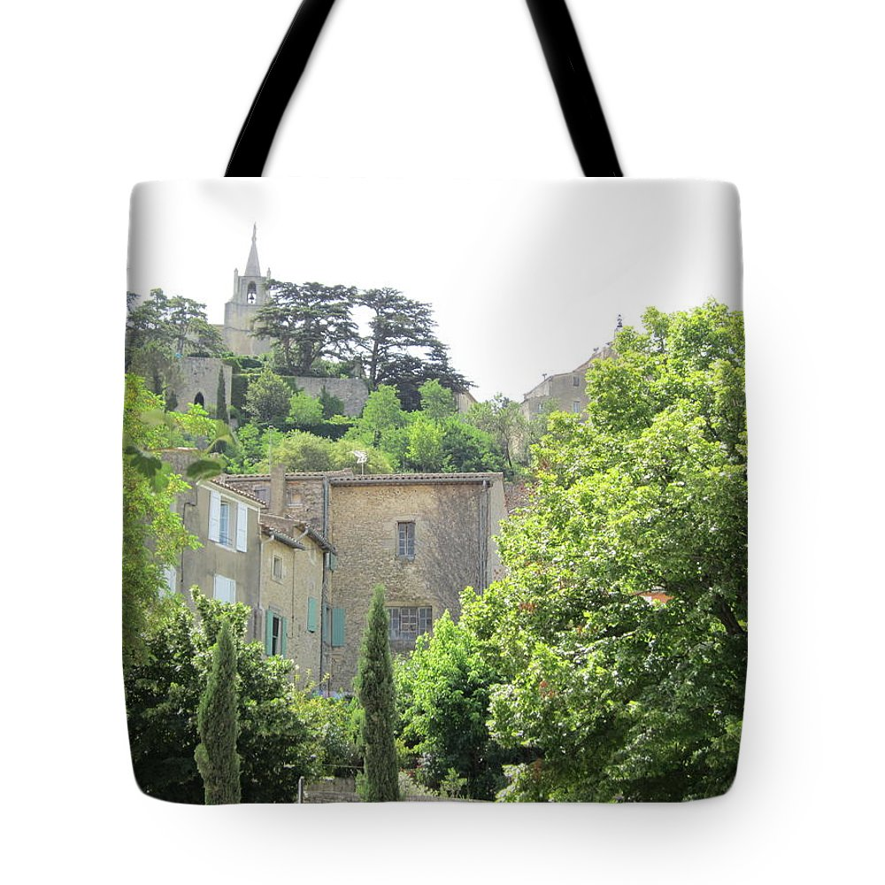 Village Tote Bag featuring the photograph Village View by Pema Hou