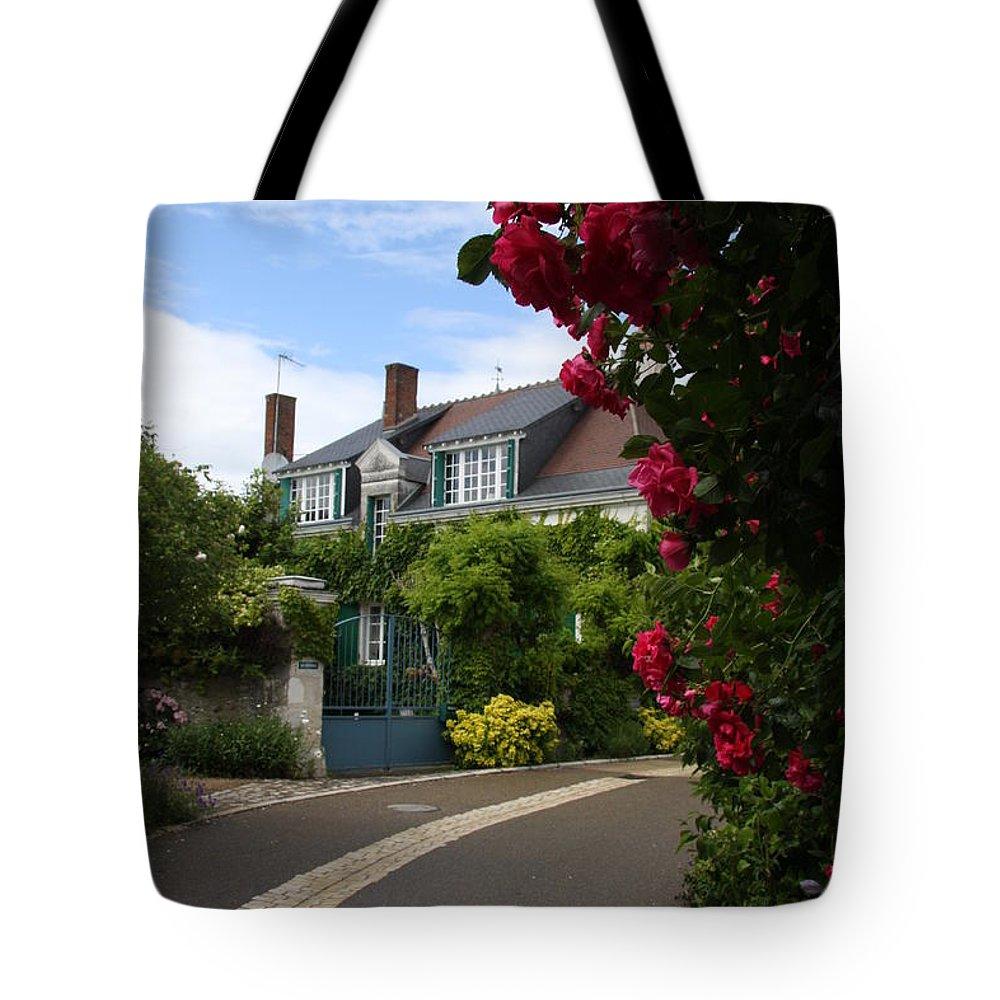 Village Tote Bag featuring the photograph Ville De Fleur - France by Christiane Schulze Art And Photography