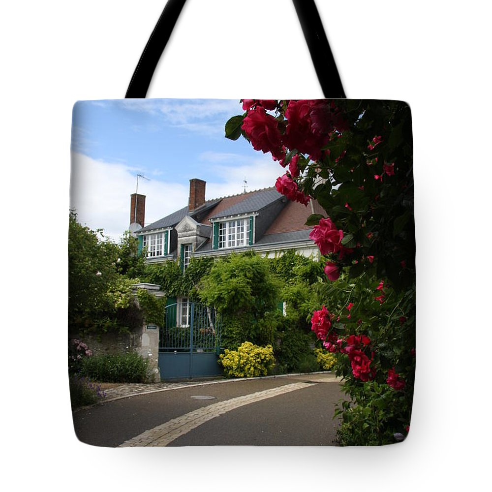 Village Tote Bag featuring the photograph Ville De Fleur - France by Christiane Schulze Art And Photography
