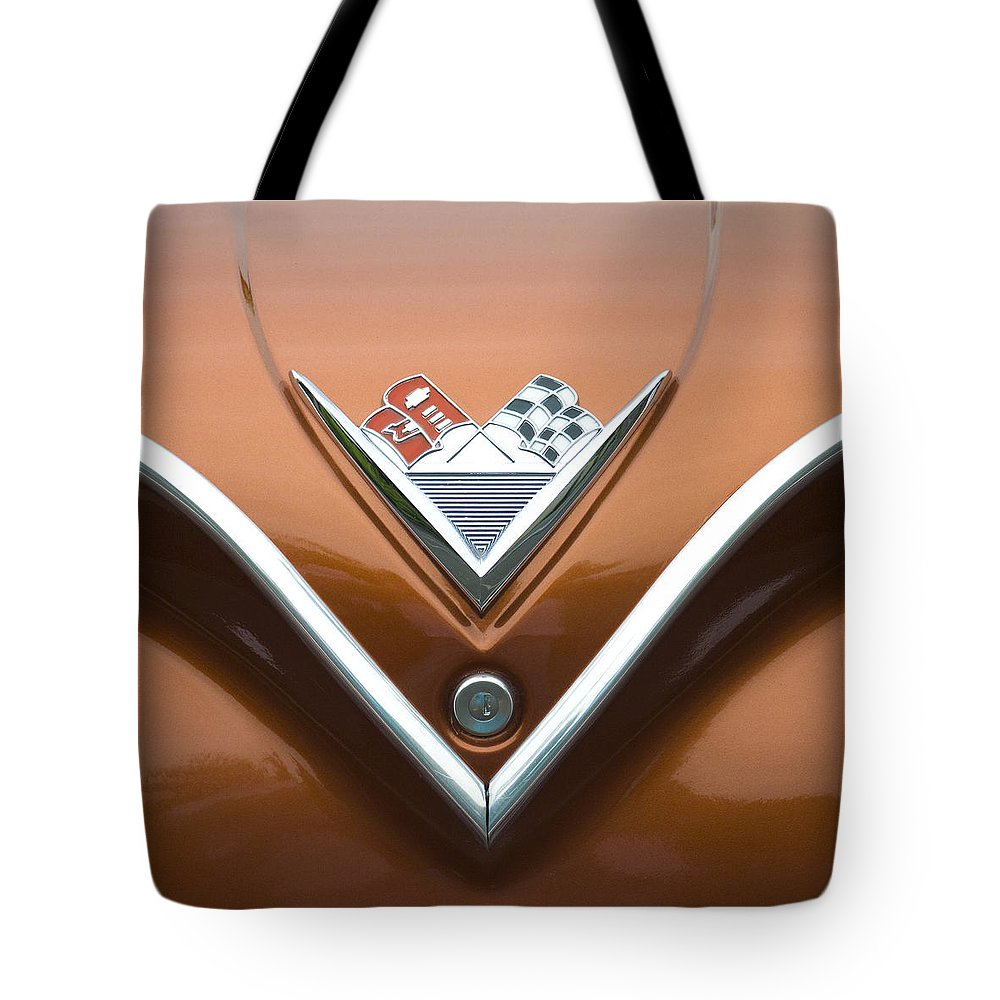Chevrolet Tote Bag featuring the photograph Vintage 1960s Chevrolet Impala by Carol Leigh